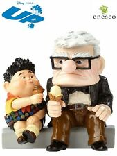 Disney Showcase Pixar Carl and Russell From UP Figurine New