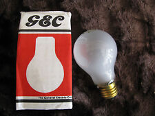 3 x GE PEARL LAMP 100W 50V E27 Brass Cap Vintage Light Bulbs Low Voltage Lamp UK