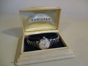 Estate Find Vintage  HAMILTON CLD WRISTWATCH No Reserve