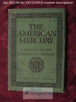AMERICAN MERCURY April 1929 JAMES M. CAIN JIM TULLY