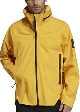 adidas My Shelter Rain Mens Waterproof Jacket - Yellow