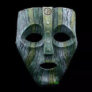 Maschera The Mask  -Jim Carrey -The Mask -Costume- Vetroresina- Cosplay Maschera