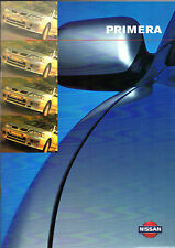 Nissan Primera 1998-99 UK Market Sales Brochure Equation GX Si SLX SRi GT SE