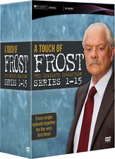 A Touch Of Frost Season 1 2 3 4 5 6 7 8 9 10 11 12 13 14 15 . Series 1-15 .. DVD