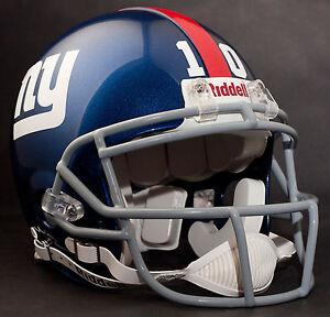 ELI MANNING Edition NEW YORK GIANTS Riddell AUTHENTIC Football Helmet
