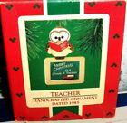 Teacher`1985`Merry Christmas To A Grade A Teacher,Hallmark Ornament-:>Free To US