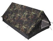 Zelt Minipack 2 Mann Zelt oliv woodland flecktarn camoflage 213x137x97 NEU