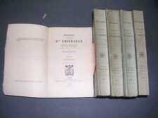 Premier empire Mémoires du général Baron de Thiébault  5 vol. complet 1908