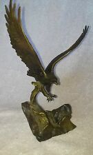 Solid Bronze - 'Wings Of Glory' Sculpture - Signed By Ronald Van Ruyckevelt
