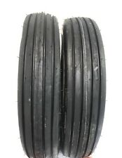 Two 600x16600 16 Rib Implement Farm Tractor Tires Disc Do All 6 Ply 600 16