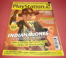 Playstation 2 Magazine [n°131 Mars 2008] PS2 Lego Indiana Jones Wild Arms 5 JRF