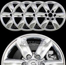 "fits 2008-14 Nissan ARMADA CHROME 18"" Wheel Skins Hub Caps Rim Covers Simulators"
