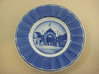 "Vintage Royal Copenhagen Tivoli Garden Plate, 6"" Diameter"