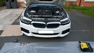 2017 ON BMW 5 Series G30 M Sport FULL Front Bumper Genuine NO PARK SENSORS