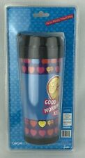 New Ken & Barbie 14 oz Travel Mug with Lid 2010 Coffee Good Morning Kiss Mattel
