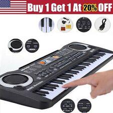 61 Keys Digital Music Electronic Keyboard Kids Electric Piano Organ & Microphone
