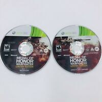 Medal of Honor: Warfighter - Limited Edition (Xbox 360, 2012) - DISCS ONLY