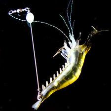 9.4cm Lifelike Sinking Shrimp Saltwater Soft Fishing Lures with Hook