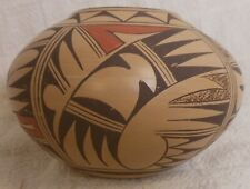 Very Good Vintage Sw Native American Hopi Pueblo Pot Signed Kathleen Collateta