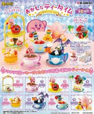 Re-Ment Miniature Star Kirby's Tea Time Sweets Party Full Set of 8 pieces Rement