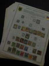 EDW1949SELL : GERMANY Large collection, all different on album pages.