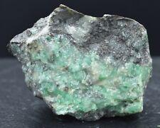 Emeraude & Biotite- Micromount - Carnaiba Mine, Campo Formoso, Bahia, Brésil