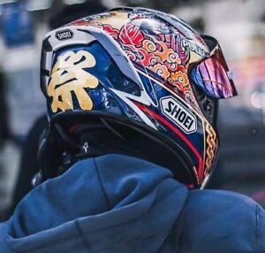 Shoei X14 X-Spirit 3 Full Face Motorcycle helmet X14 Marquez Motegi 3 Riding