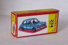 Repro Box Majorette Nr.234 Simca 1100