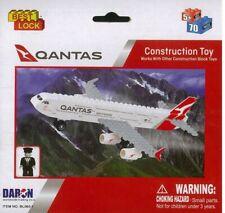 Qantas 70pc Construction Toy - Daron