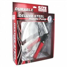 Size Matters Deluxe Steel Hand Pump New in Box