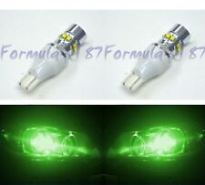 LED Light 50W 921 Green Two Bulbs Back Up Reverse Replacement Fit OE Show Color