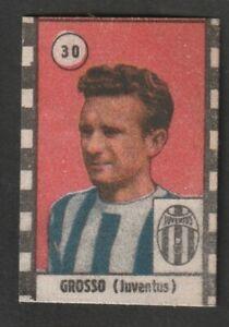 FIGURINA CALCIATORI CASTOLDI 1947-48 JUVENTUS GROSSO