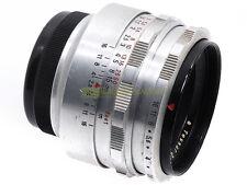 Carl Zeiss Jena Tessar 50mm. f2,8 Silver, innesto a vite M42. Ottimo su digitali