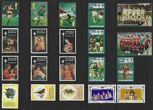 G530 Grenada - Grenadines / A Small Collection Early & Modern Umm Lhm & Used