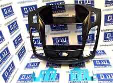 Mascherina autoradio monitor kit Doppio 2 Din Ford Focus 2011 a 2014 NERO LUCIDO