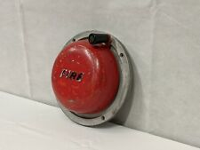 More details for perry barr metal co ltd - hand turn fire bell - vintage made in united kingdom