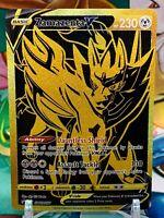 Pokemon Zamazenta V SWSH077 Full Art Black Star Promo MINT