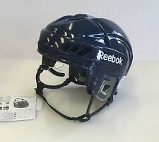 New Reebok 11K Olympics Pro Stock/Return size large ice hockey helmet navy blue