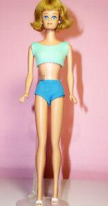 Vintage 1964 Midge Barbie's Friend Model #860 Blonde OSS White Mules