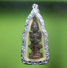 OLD BEAUTIFUL REAL THAO VEJSUWAN THAI AMULET VERY RARE!!!