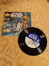 1979 Star Wars Book Story Music & Photos Episode Iv A New Hope with Music Record