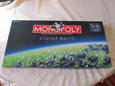 2008 ' MONOPOLY ' (planet earth)/hasbro/parker brothers