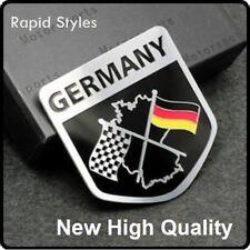 Nuevo Alemania Bandera a cuadros VW AUDI BMW coche insignia emblema Adhesivo Calcomanía Auto (94)