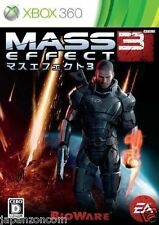 Used Xbox 360 Mass Effect 3 MICROSOFT JAPAN JAPANESE JAPONAIS IMPORT