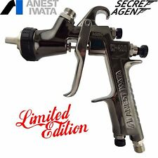 Iwata W400 Bellaria 1.3 Spray Gun Limited edition Secret Agent Case & Gauge