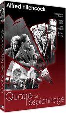 DVD / QUATRE DE L'ESPIONNAGE V.O, Master HD, Bonus / Hitchcock / NEUF cellophané