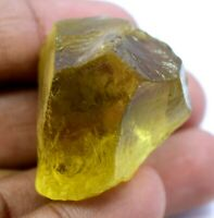 141.0 Ct Natural Lemon Citrine Untreated AGSL Certified Specimen Facet Rough