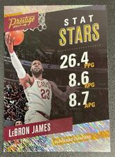2017/18 Prestige Basketball Stat Stars Rain #1 Lebron James Lakers