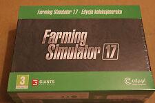 FARMING SIMULATOR 17 COLLECTORS EDITION PL PC DVD NOWA POLSKI POLISH