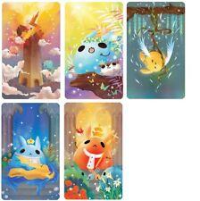 Minnjump rabbits Tarot 22 major arcana  cards deck self-published